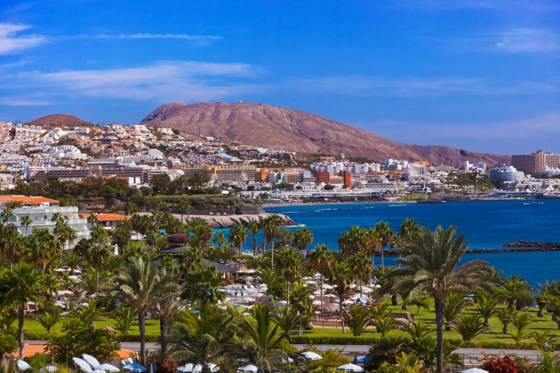 'Beach Las Americas in Tenerife island - Canary Spain' - Isole Canarie