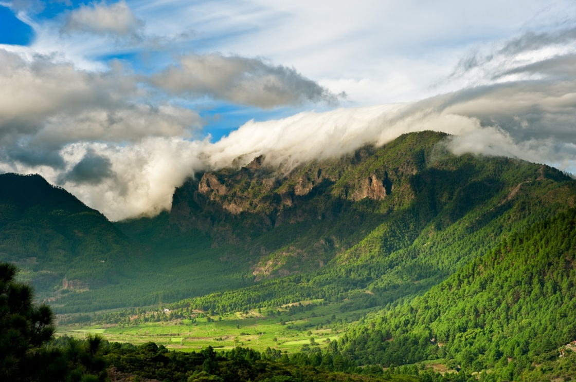 'Beautiful landscape of the mountains in La Palma, Canary Islands, Spain' - Isole Canarie